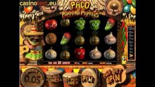 видео Paco and the Popping Peppers (Перцы)—3D слот автомат Betsoft