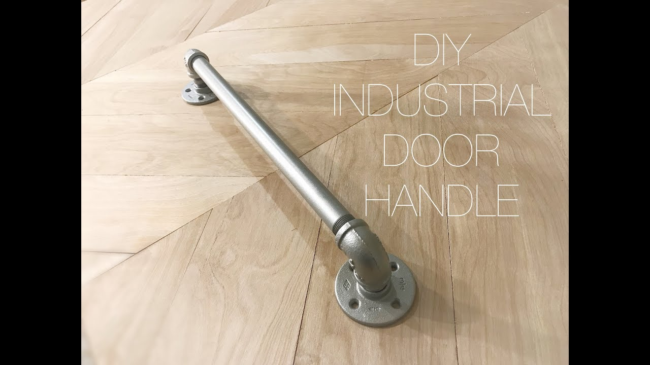DIY Industrial Door Handle