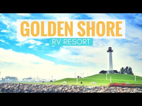 Golden Shore RV Resort in Long Beach, California 🚐🏝 Full Time RV Living & RV Park Reviews