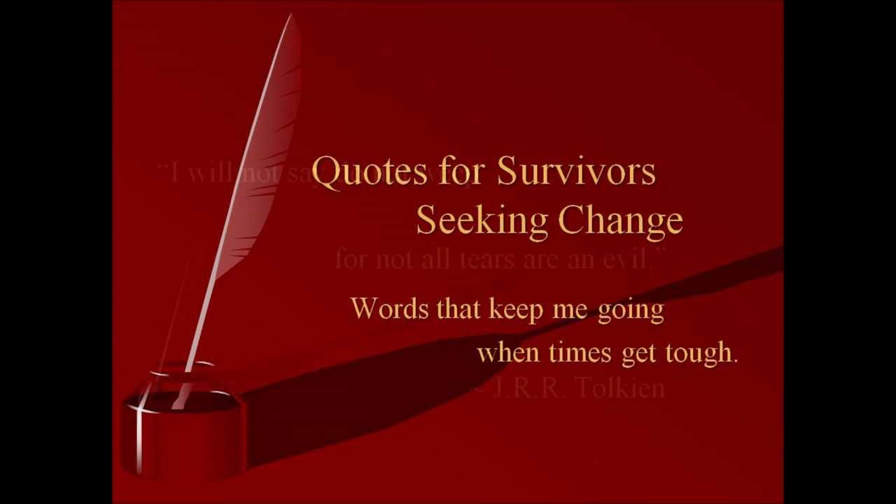 Domestic Violence Survivor Quotes Inspirational Quotes For Survivors Seeking Change  Youtube