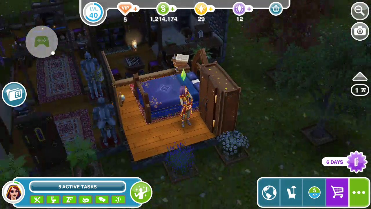 Sims Freeplay - Have a Hot Bath - Weekly Task - YouTube