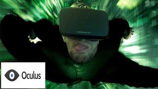 ENTERING THE MATRIX FOR REAL! - MatrixVR - Oculus Rift DK2