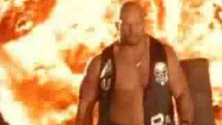 "Stone Cold Steve Austin-""Disturbed""-Glass Shattered"