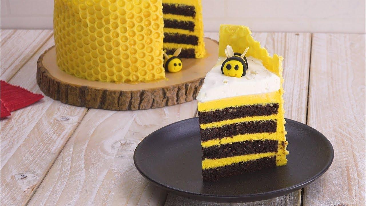 Ist Das Nicht Toll Unser Honig Bienen Kuchen Youtube