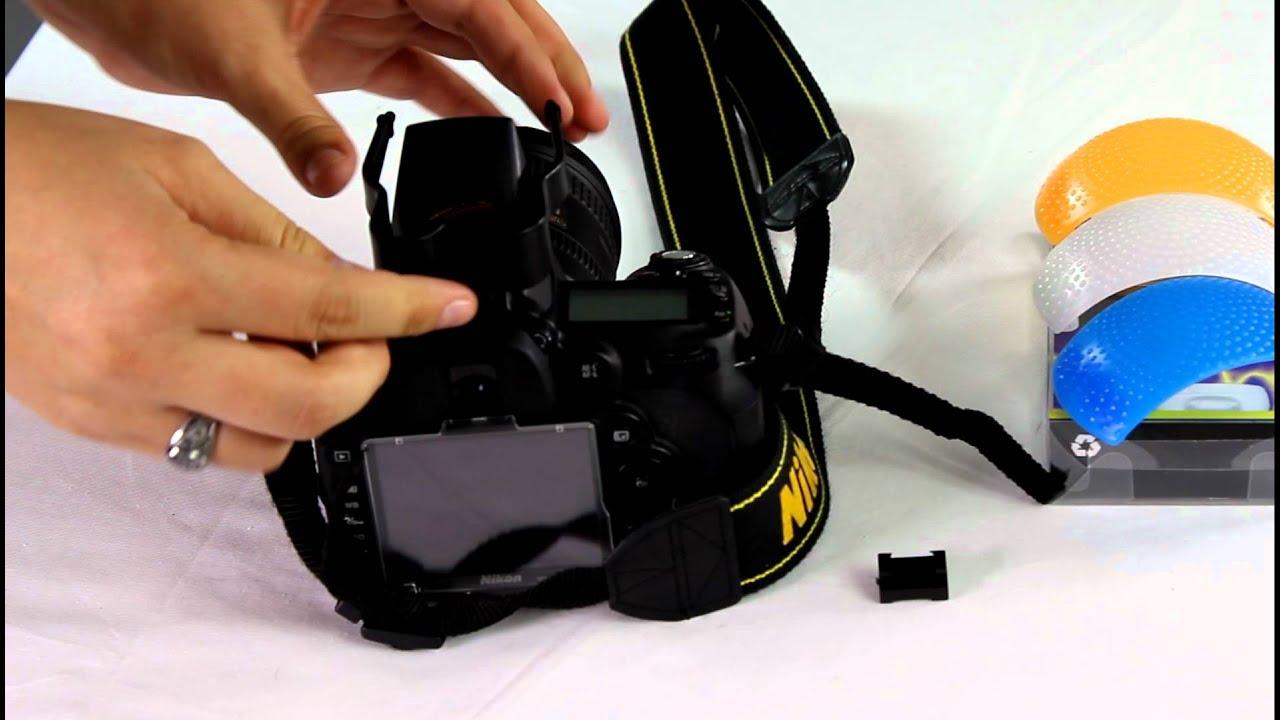 CowboyStudio Tri-Color Hard Flash Diffuser Set for the Nikon Nikon R1C1