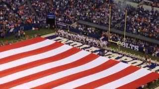 Video Bald eagle flies over a giant American flag before a Colts game download MP3, 3GP, MP4, WEBM, AVI, FLV Juli 2018