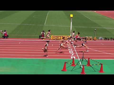 2018織田記念女子100mH予選2組木村文子13.36(+1.8)