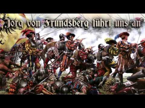 Jörg von Frundsberg führt uns an ⚔ [Landsknecht song][+English translation]