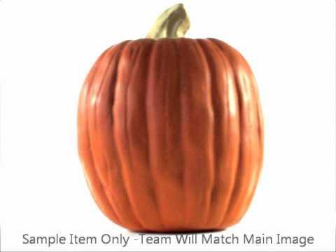 College Resin Pumpkins - Fan Gear