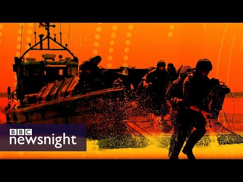 Royal Navy could lose 'fight on beaches' ships in planned cuts - BBC Newsnight