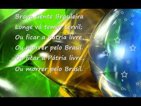 Hino Da Independência Brasileira Hinos De Países Letrasmusbr