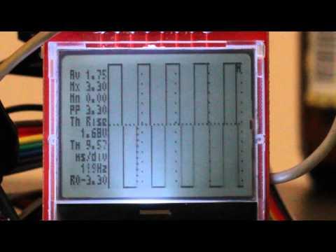 Arduino FIO LCD Oscilloscope – semifluid com