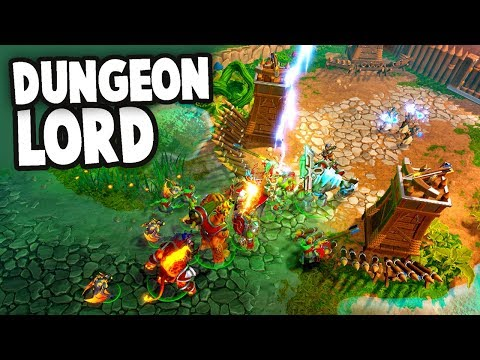 NEW Dungeon Keeper!?  Invasion of the OVERWORLD!  (Dungeons 3 Gameplay Ep 1)