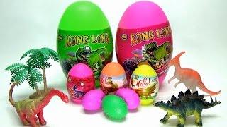 Surprise Giant Dinosaur Eggs Toy ! Kids Toy ! Khám Phá Trứng Khủng Long Khổng Lồ ! WOB Kids !