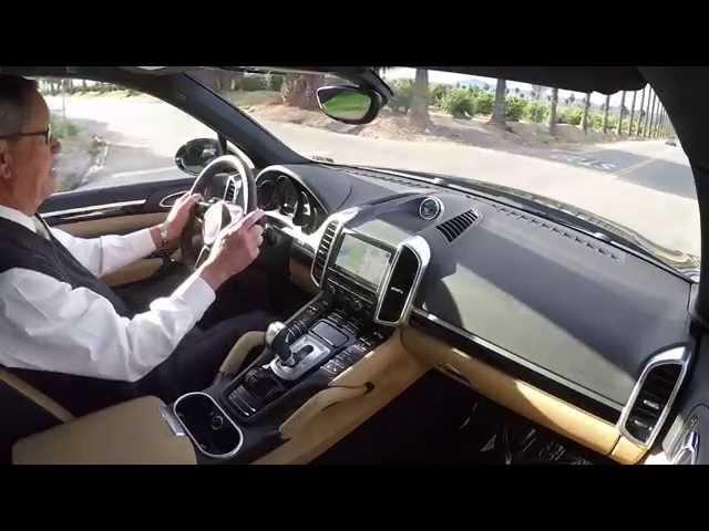 2015 Porsche Cayenne Diesel Test Drive