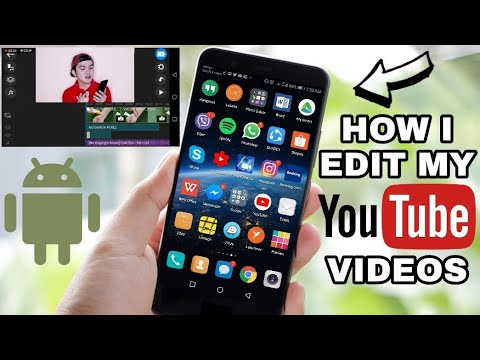 How I Edit My Videos Using My Android Phone (TAGALOG)