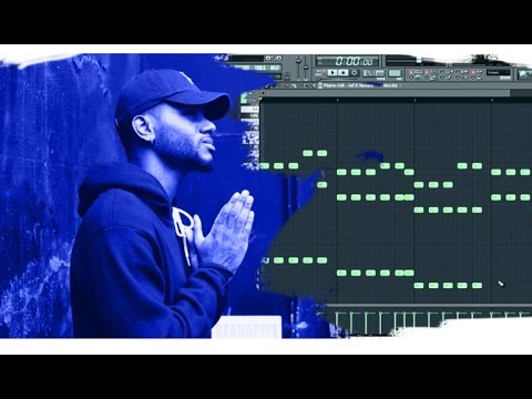 (FL Studio) Free MIDI Files - How to make Bryson Tiller type melody #3