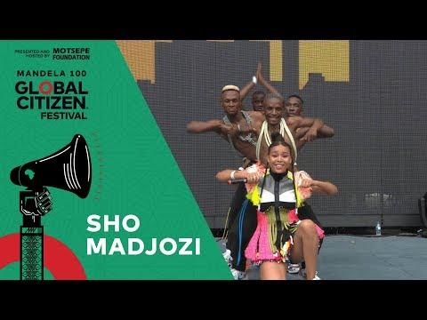"Sho Madjozi Performs ""Huku""   Global Citizen Festival: Mandela 100"