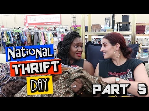 National Thrift Day at SAVERS Part 5| Come Thrifting With Us|#ThriftersAnonymous