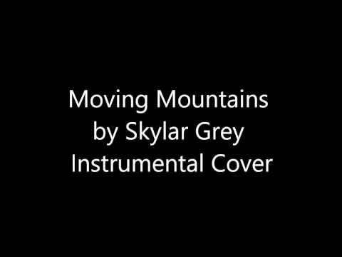 Moving Mountains - Skylar Grey | Instrumental Guitar Cover