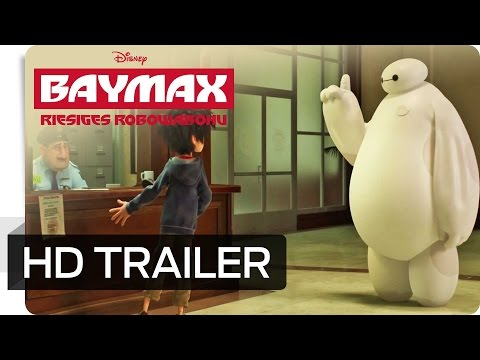 BAYMAX - RIESIGES ROBOWABOHU - Trailer 2 - Ab 22. Januar 2015 im Kino! | Disney HD