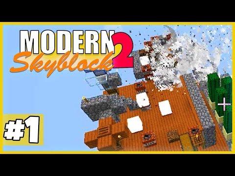 ALLES von vorne! - Minecraft Modern Skyblock 2 (Expert Mode) - #1