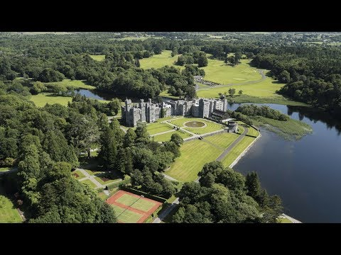 Ashford Castle in Ireland, A Luxury Five Star Resort Hotel in Co. Mayo