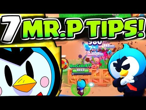 7 TIPS TO DOMINATE WITH MR. P FOR WHEN YOU UNLOCK HIM! ULTIMATE NEW BRAWLER MR. P GUIDE!