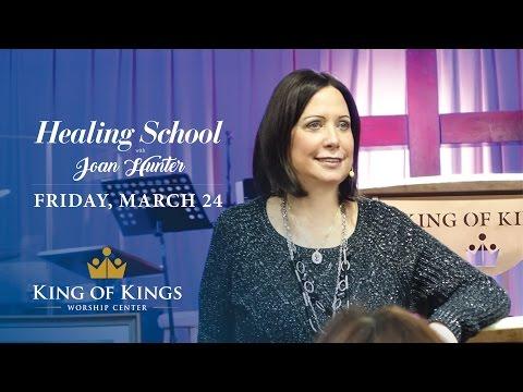Joan Hunter - Healing School - King of Kings Worship Center, Basking Ridge, NJ - March 24, 2016
