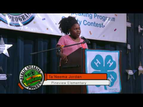 4-H Tropicana Speech Competition 2017 4th & 5th Grade Full Version
