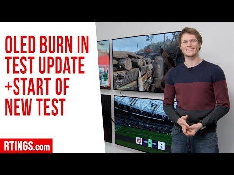 OLED Burn-in Test Update + Start of New Test - Rtings.com