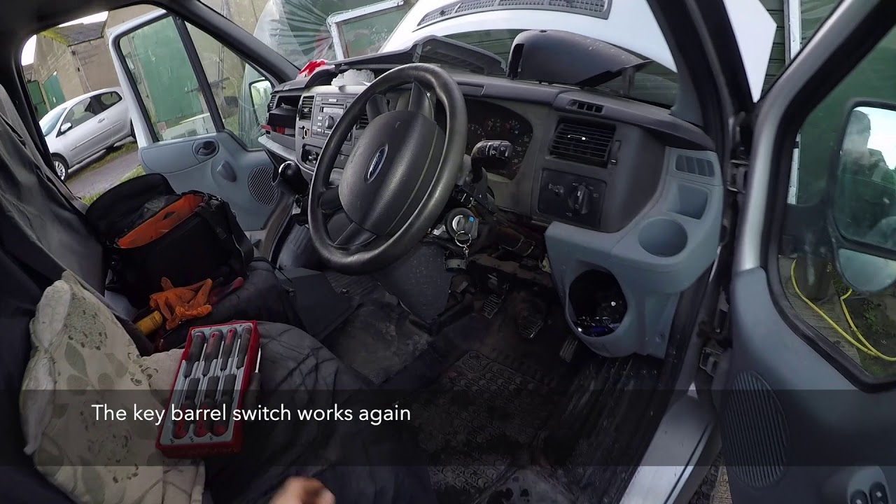 Ford Transit Fuse Box Location Youtube