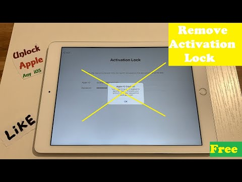Remove ICloud Account Activation Lock Factory Reset Any Generation IPad IPhone Unlock IOS 6 To 13