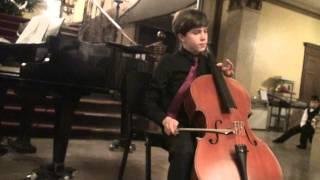 Cyprien Keiser (age 13) plays D. Popper, Polonaise de Concert Op.14