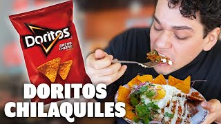 Trying Chilaquiles made from DORITOS CHIPS! | News Bites