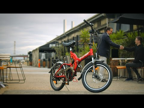 Leitner Australia - SuperT Folding Electric Bike with Dual Suspension
