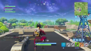 WE LIVE  FORTNITE TRYING TO GET A SQUAD WIN  WIN GAME PLAY PS4]