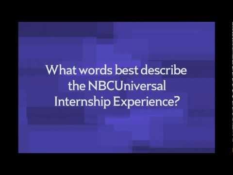 NBCUniversal Internship Porgram