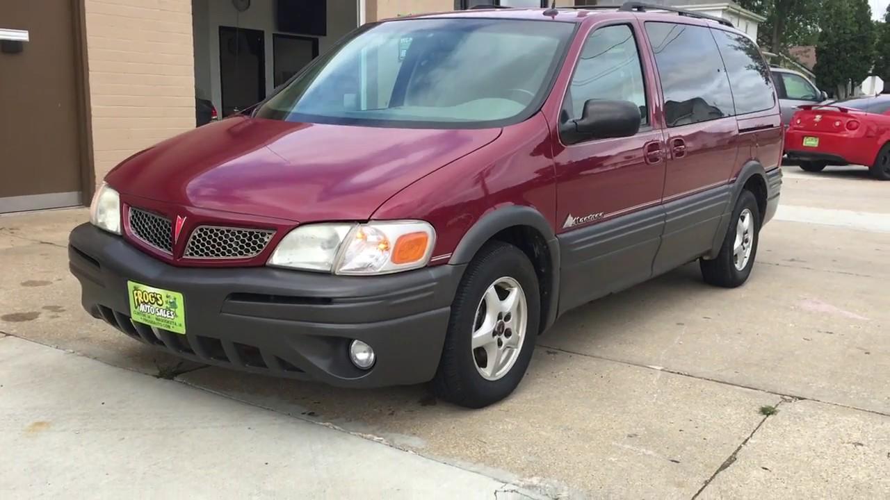 2004 Pontiac Montana Van