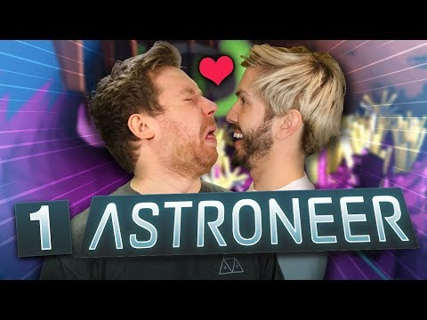 Kissing Cave | Astroneer #1