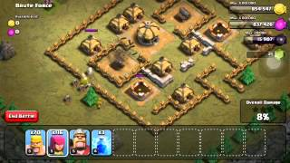 Clash of Clans Level 11: Brute Force (walkthrough)