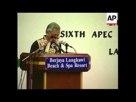 MALAYSIA: APEC DEBATES CURRENCY CONTROLS