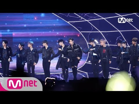 [2017 MAMA in Hong Kong] Wanna One_Nothing Without You + Beautiful + Puppet Perf.