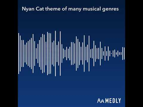 Nyan cat theme of many musical genres