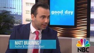 Matt Brauning on NBC New Mexico TV