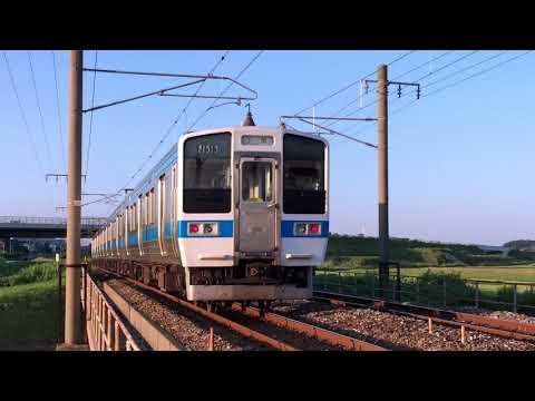 415系1500番代の通過~JNR Series 415-1500