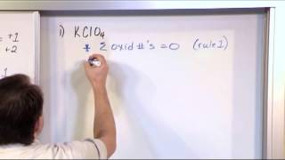 Finding Oxidation Numbers - Chemistry