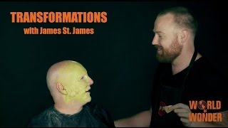 Jason Adcock & James St. James - 80s Neon Acid Monster Transformations