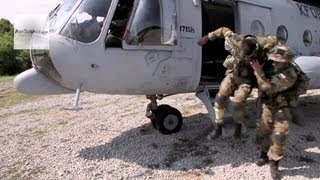 Mi-17 Aerial Footage - U.S. Army Europe, Immediate Response Medical Evacuation