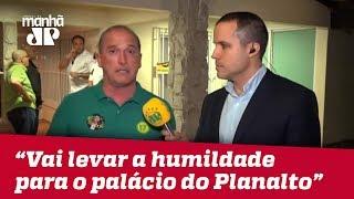 'Bolsonaro vai levar a humildade para o palácio do Planalto', afirma líder da campanha